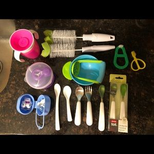 Other - Infant baby feeding set Bundle